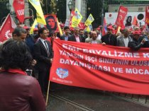 Сопредседатель профсоюза «Жанарту» побывал на мероприятии ВФП в Стамбуле