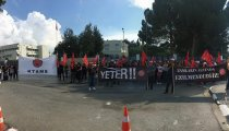 Кипр: Забастовка членов профсоюза KTAMS
