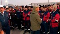 В Алматинской области прошла забастовка в знак протеста против избиения казахстанского рабочего китайцами
